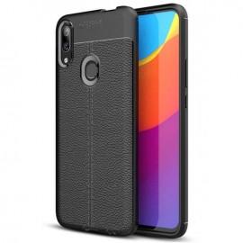 Coque Silicone Huawei P Smart Z Cuir 3D Noire