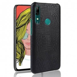 Coque Huawei P Smart Z Croco Cuir Noire