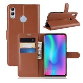 Etuis Portefeuille Huawei P Smart Z Simili Cuir Marron