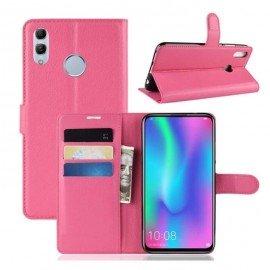 Etuis Portefeuille Huawei P Smart Z Simili Cuir Fushia