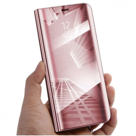 Etuis Huawei P Smart Cover Translucide Rose