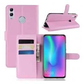 Etuis Portefeuille Huawei P Smart Z Simili Cuir Rose