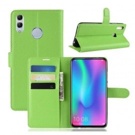 Etuis Portefeuille Huawei P Smart Z Simili Cuir Vert