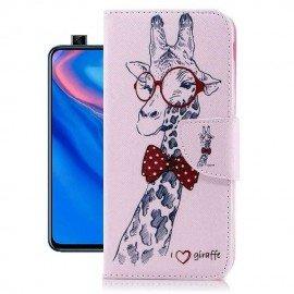Etuis Portefeuille Huawei P Smart Z Girafe