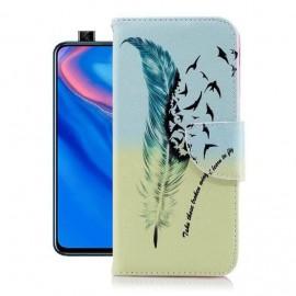 Etuis Portefeuille Huawei P Smart Z Oiseaux