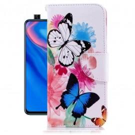 Etuis Portefeuille Huawei P Smart Z Papillon