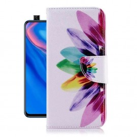 Etuis Portefeuille Huawei P Smart Z Plumes