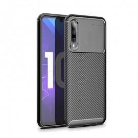 Coque Samsung Galaxy A70 Carbone TPU Noire
