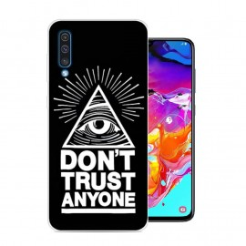 Coque Silicone Samsung Galaxy A70 Confiance