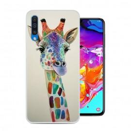 Coque Silicone Samsung Galaxy A70 Girafe
