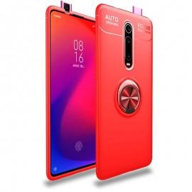 Coque Anneau Xiaomi Redmi K20 Rouge