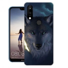 Coque Silicone Huawei P20 Lite Loup