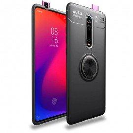 Coque Anneau Xiaomi MI 9T Noire