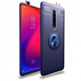 Coque Anneau Xiaomi MI 9T Bleue