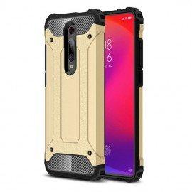 Coque Xiaomi MI 9T Anti Choques Dorée