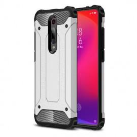 Coque Xiaomi MI 9T Anti Choques Gris Argent