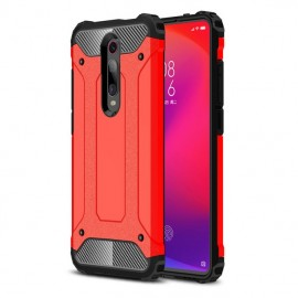 Coque Xiaomi MI 9T Anti Choques Rouge