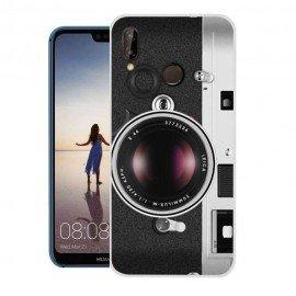 Coque Silicone Huawei P20 Lite Camera