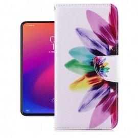 Etuis Portefeuille Xiaomi MI 9T Plumes