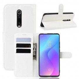 Etuis Portefeuille Xiaomi MI 9T Simili Cuir Blanche