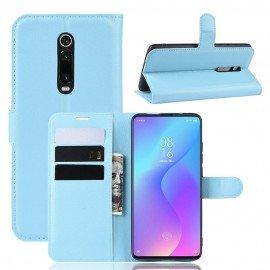 Etuis Portefeuille Xiaomi MI 9T Simili Cuir Bleu