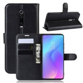 Etuis Portefeuille Xiaomi MI 9T Simili Cuir Noir