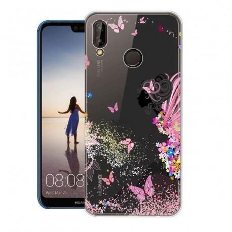 Coque Silicone Huawei P20 Lite Fée