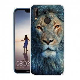 Coque Silicone Huawei P20 Lite Lion