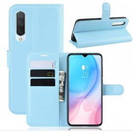 Etuis Portefeuille Xiaomi MI A3 Simili Cuir Bleu