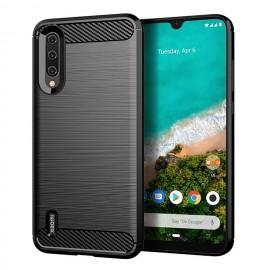 Coque Silicone Xiaomi MI A3 Brossé Noire