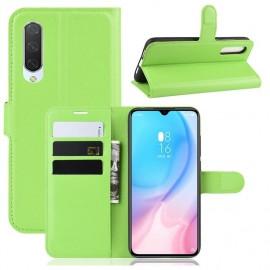 Etuis Portefeuille Xiaomi MI A3 Simili Cuir Vert