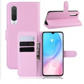 Etuis Portefeuille Xiaomi MI A3 Simili Cuir rose