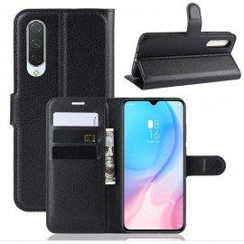 Etuis Portefeuille Xiaomi MI A3 Simili Cuir Noir