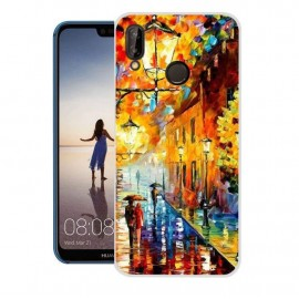 Coque Silicone Huawei P20 Lite Peinture