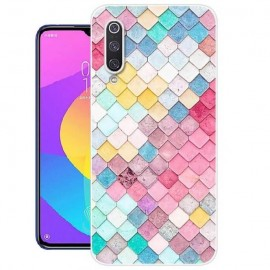 Coque Silicone Xiaomi MI A3 Aquarelles