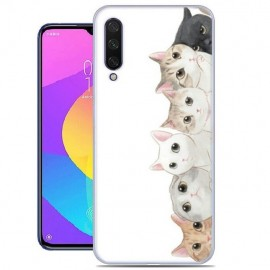 Coque Silicone Xiaomi MI A3 Chatons