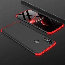 Coque 360 Samsung Galaxy A20e Noire et Rouge