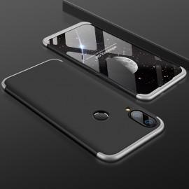 Coque 360 Huawei P20 Lite Noir et Gris