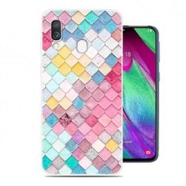 Coque Silicone Samsung Galaxy A20e Aquarelles