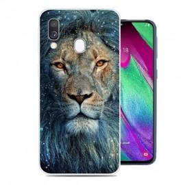 Coque Silicone Samsung Galaxy A20e Lion