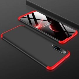 Coque 360 Xiaomi MI A3 Noire et Rouge