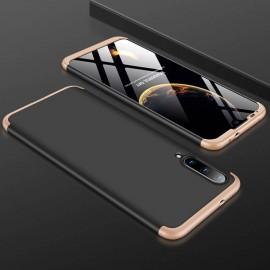 Coque 360 Xiaomi MI A3 Noire et Or