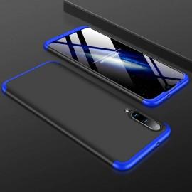 Coque 360 Xiaomi MI A3 Noire et Bleue
