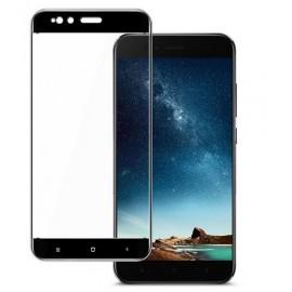 Verre Trempé Xiaomi Mi A1 Protecteur d'écran Noir