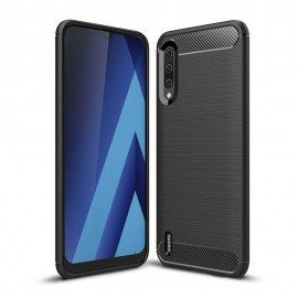 Coque Silicone Xiaomi MI 9 Lite Brossé Noir
