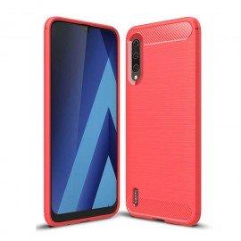 Coque Silicone Xiaomi MI 9 Lite Brossé Rouge