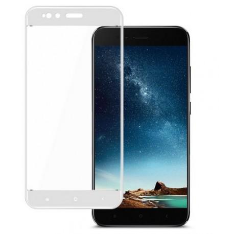 Verre Trempé Xiaomi Mi A1 Protecteur d'écran Blanc