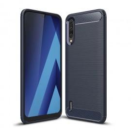 Coque Silicone Xiaomi MI 9 Lite Brossé Bleue