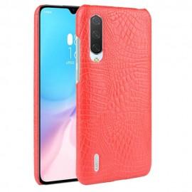 Coque Xiaomi MI 9 Lite Croco Cuir Rouge