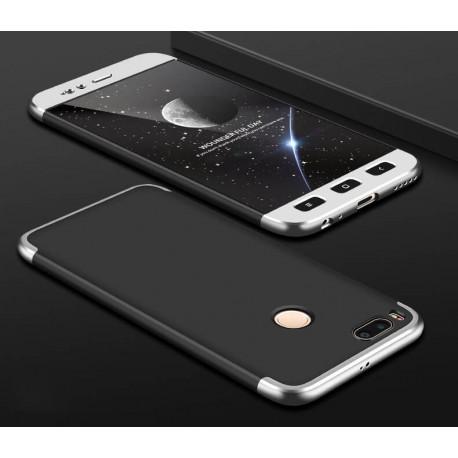Coque 360 Xiaomi Mi A1 Noir et Gris